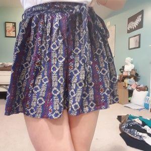 Dresses & Skirts - Tribal print, mini skirt